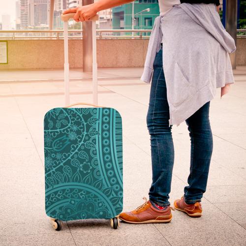 Чехол для чемодана 3D Стихия нежности Фото 01