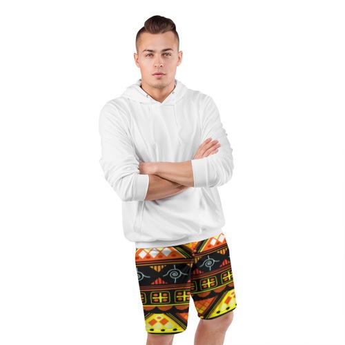Мужские шорты 3D спортивные  Фото 05, Element ethnic