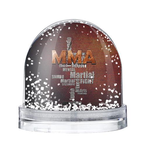 Водяной шар со снегом  Фото 01, MMA
