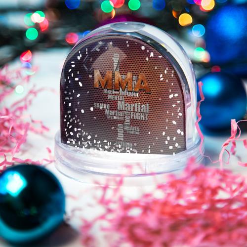 Водяной шар со снегом  Фото 03, MMA