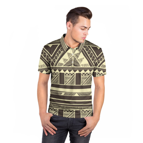 Мужская рубашка поло 3D  Фото 05, Камерун