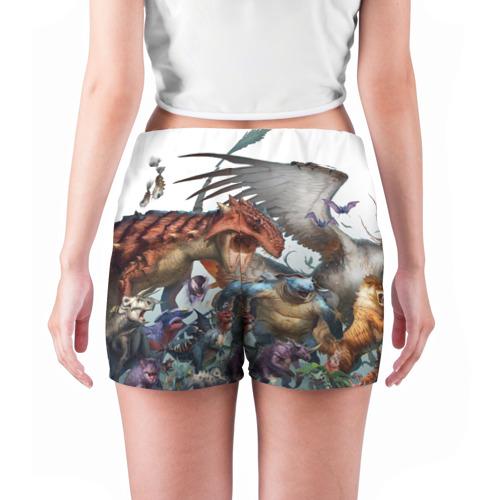 Женские шорты 3D  Фото 04, Покемоны