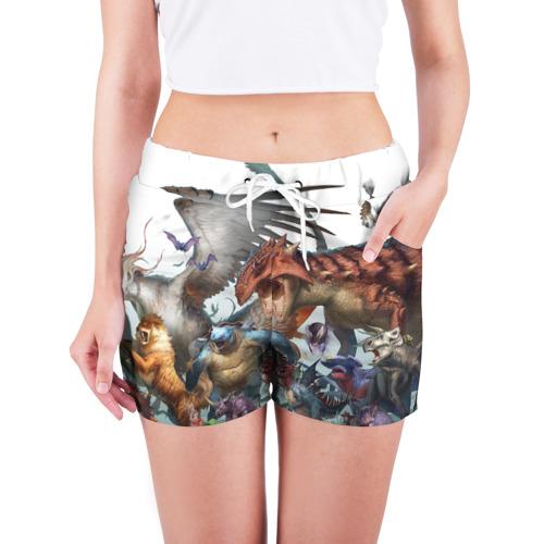Женские шорты 3D  Фото 03, Покемоны