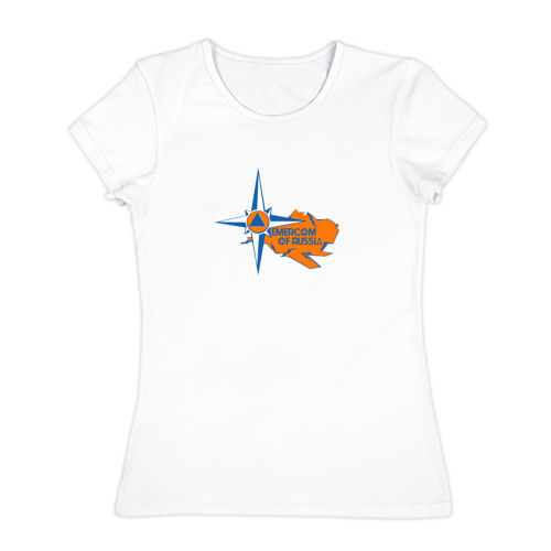 Женская футболка хлопок  Фото 01, МЧС