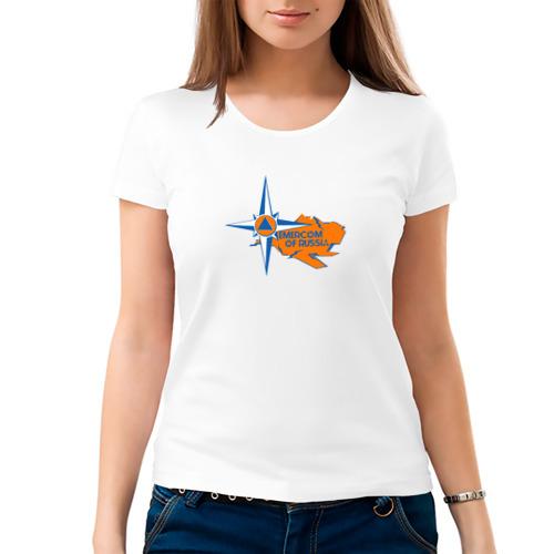Женская футболка хлопок  Фото 03, МЧС