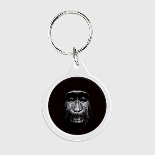 Брелок круглый  Фото 01, обезьяна