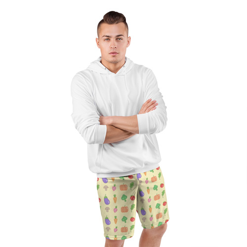 Мужские шорты 3D спортивные  Фото 05, Рай вегетарианца
