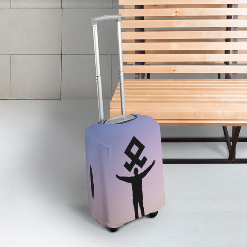 Чехол для чемодана 3D Знак Рода Фото 01