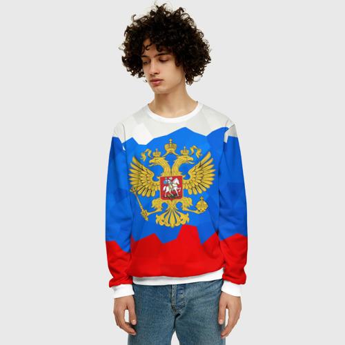 Мужской свитшот 3D Россия Фото 01