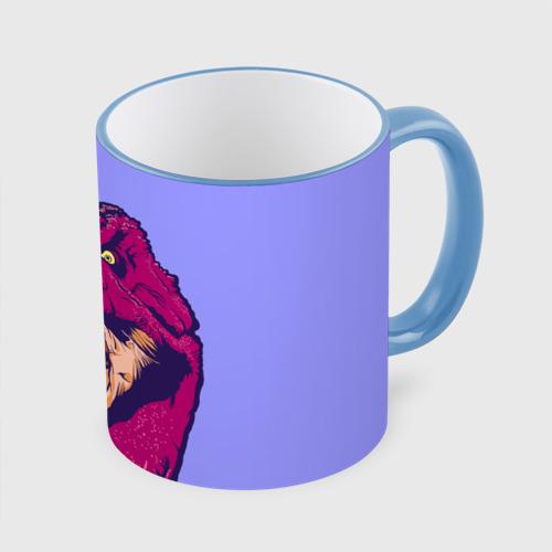 Кружка с полной запечаткой rex