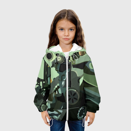 Детская куртка 3D  Фото 04, Боец Братства Стали Fallout