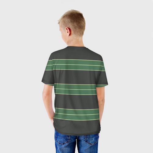 Детская футболка 3D Одежда Курта Кобейна Фото 01