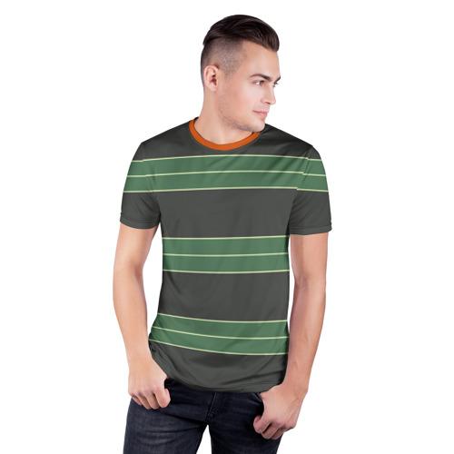 Мужская футболка 3D спортивная Одежда Курта Кобейна Фото 01