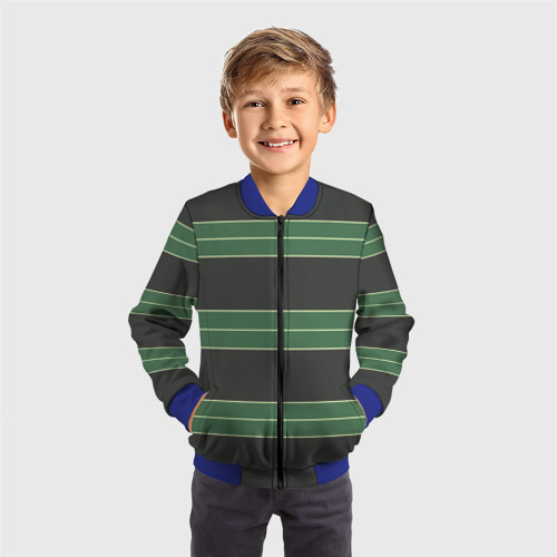 Детский бомбер 3D Одежда Курта Кобейна Фото 01