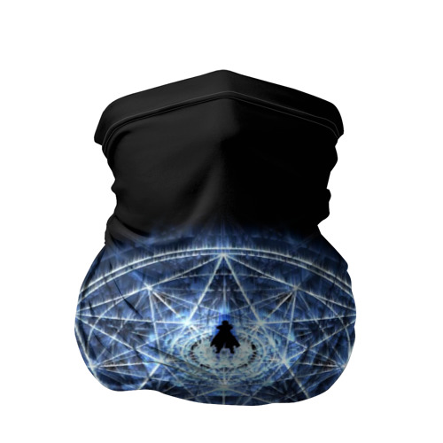 Бандана-труба 3D Цельнометаллический алхимик