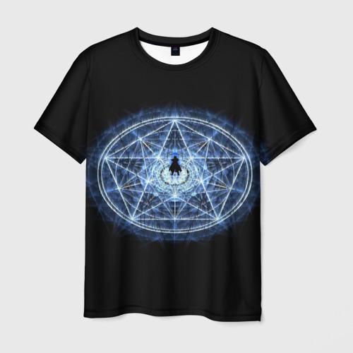 Мужская футболка 3D  Фото 01, Цельнометаллический алхимик