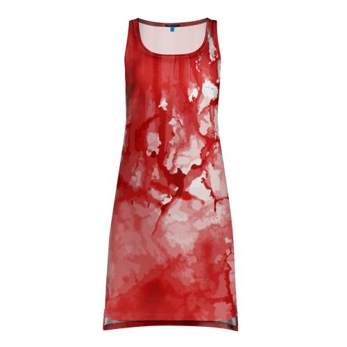 Платье-майка 3D  Фото 01, Кровь