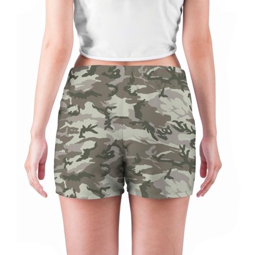 Женские шорты 3D  Фото 04, Камуфляж