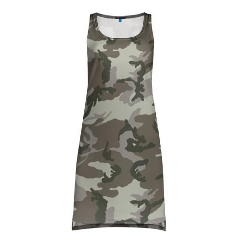 Платье-майка 3D  Фото 01, Камуфляж