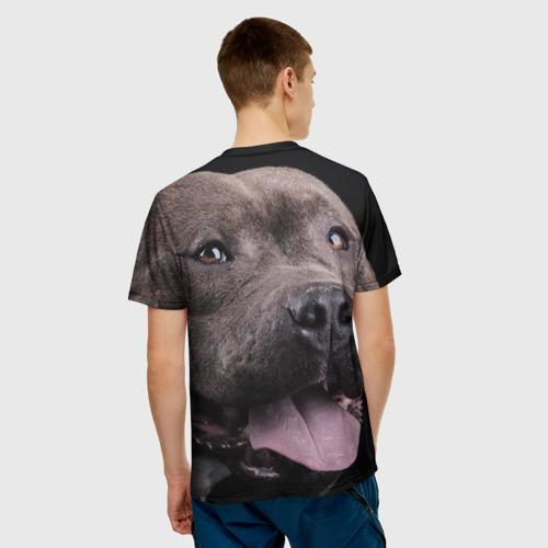 Мужская футболка 3D  Фото 02, Пит-буль