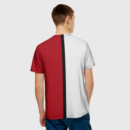 Мужская футболка 3D  Фото 02, Pokeball