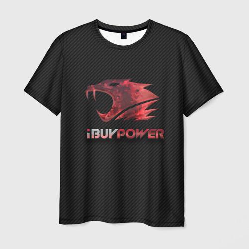 Мужская футболка 3D  Фото 01, cs:go - iBUYPOWER (KATOWICE 2014)