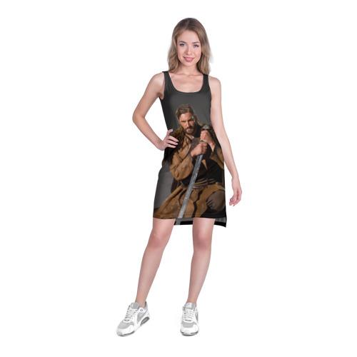 Платье-майка 3D  Фото 03, Викинги