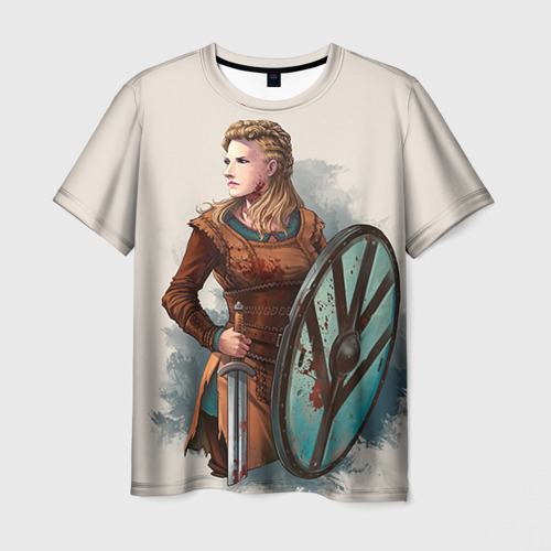 Мужская футболка 3D  Фото 01, Лагерта