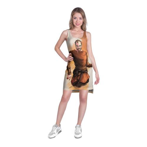 Платье-майка 3D  Фото 03, Флоки