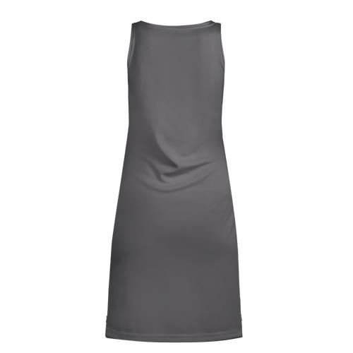 Платье-майка 3D  Фото 02, Флоки