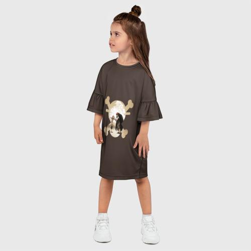 Детское платье 3D  Фото 03, One Piece