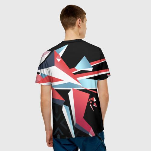 Мужская футболка 3D  Фото 02, cs:go - Point Disarray style 2 (Буйство красок)