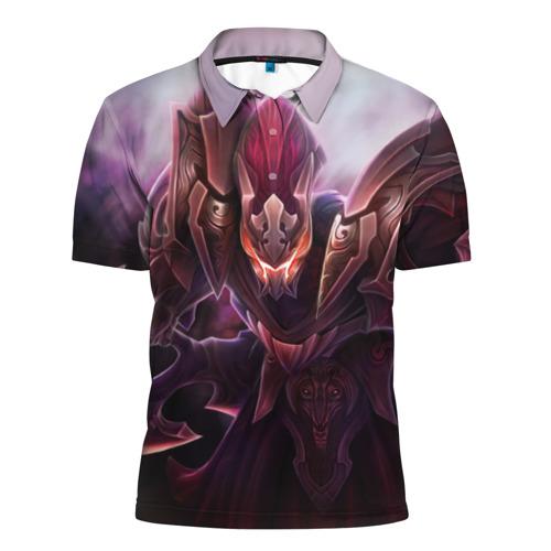 Мужская рубашка поло 3D  Фото 01, Спектра