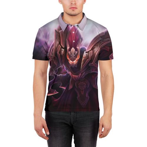 Мужская рубашка поло 3D  Фото 03, Спектра