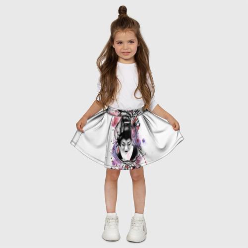 Детская юбка-солнце 3D  Фото 03, Символ Японий