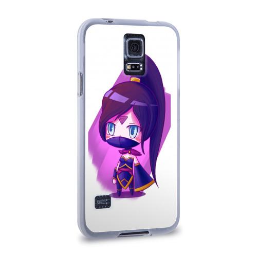 Чехол для Samsung Galaxy S5 силиконовый  Фото 02, Templar Assassin Cute