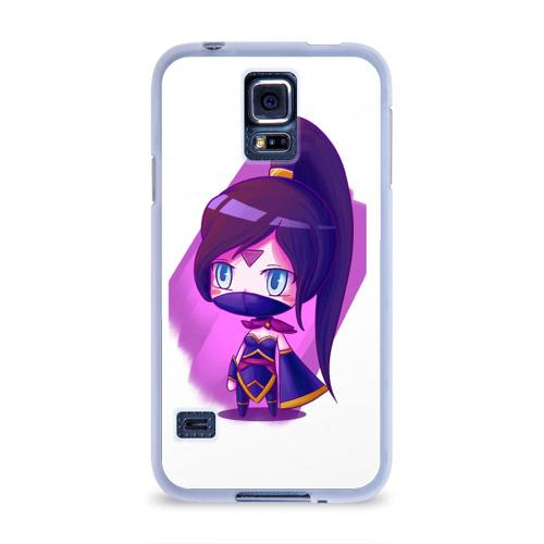 Чехол для Samsung Galaxy S5 силиконовый  Фото 01, Templar Assassin Cute