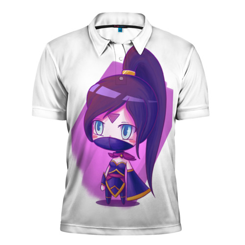 Мужская рубашка поло 3D  Фото 01, Templar Assassin Cute