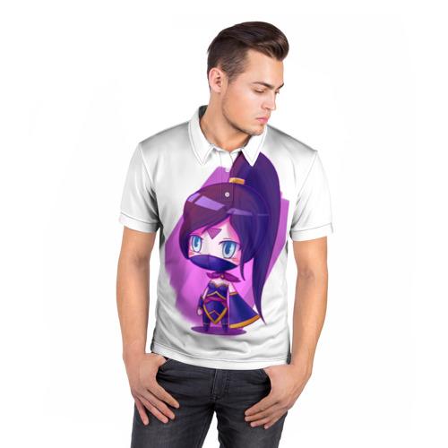 Мужская рубашка поло 3D  Фото 05, Templar Assassin Cute