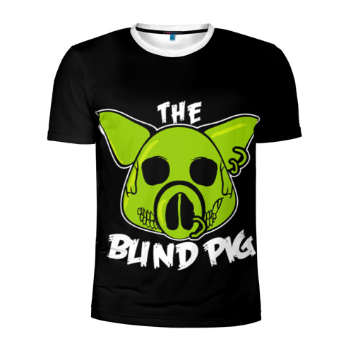 Мужская футболка 3D спортивная  Фото 01, Blind Pig