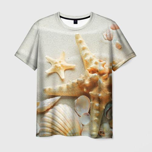 Мужская футболка 3D  Фото 03, Морской пляж 5