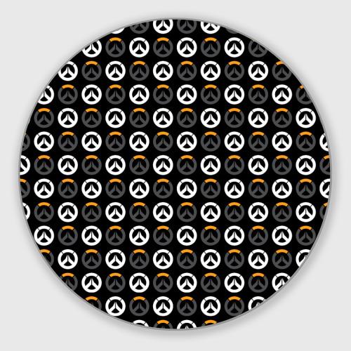 Коврик для мышки круглый Overwatch Multi Logo (2) Фото 01