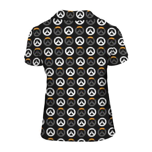 Женская рубашка поло 3D Overwatch Multi Logo (2) Фото 01