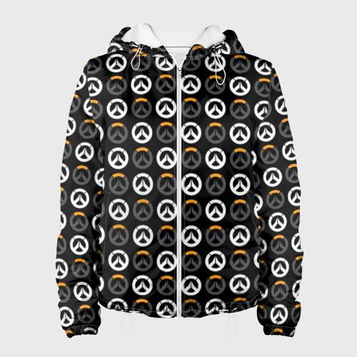 Женская куртка 3D Overwatch Multi Logo (2) Фото 01