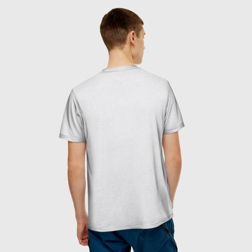 Мужская футболка 3D  Фото 02, Кот 2