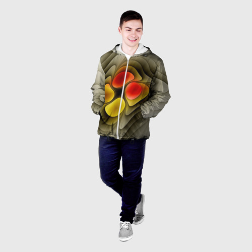 Мужская куртка 3D  Фото 03, Абстракция 9