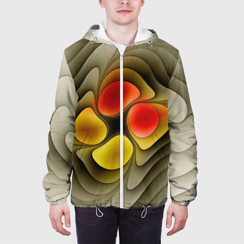 Мужская куртка 3D  Фото 04, Абстракция 9