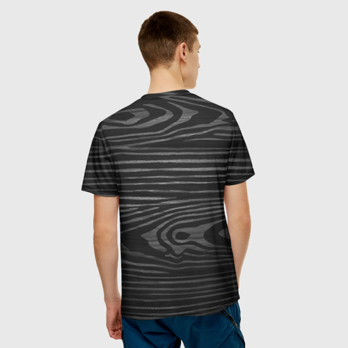 Мужская футболка 3D  Фото 02, cs:go - Black Laminate (Чёрный глянец)