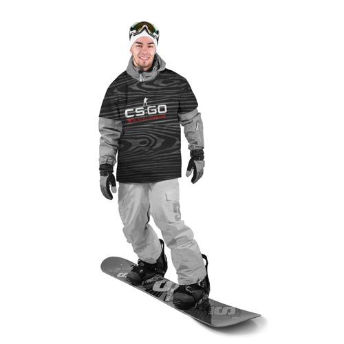 Накидка на куртку 3D  Фото 03, cs:go - Black Laminate (Чёрный глянец)