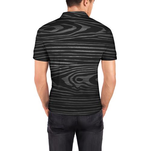 Мужская рубашка поло 3D  Фото 04, cs:go - Black Laminate (Чёрный глянец)